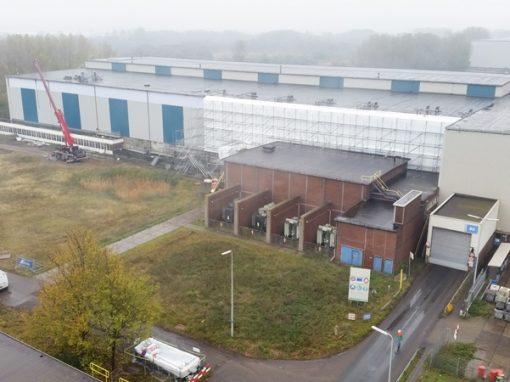 Gevelrenovatie Slijperij Koudband – Tata Steel IJmuiden