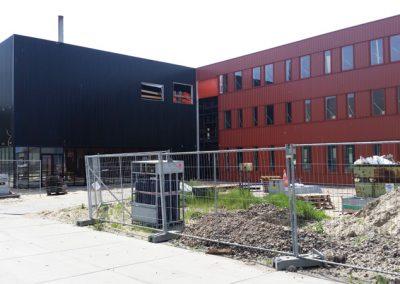 Nieuwbouw kantoor en badlokaal DSP – Tata Steel IJmuiden