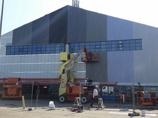 Gevelrenovatie R&D laboratoria – Tata Steel IJmuiden